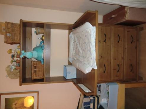 baby kinderzimmer 3 teilig ikea wie neu babym bel. Black Bedroom Furniture Sets. Home Design Ideas